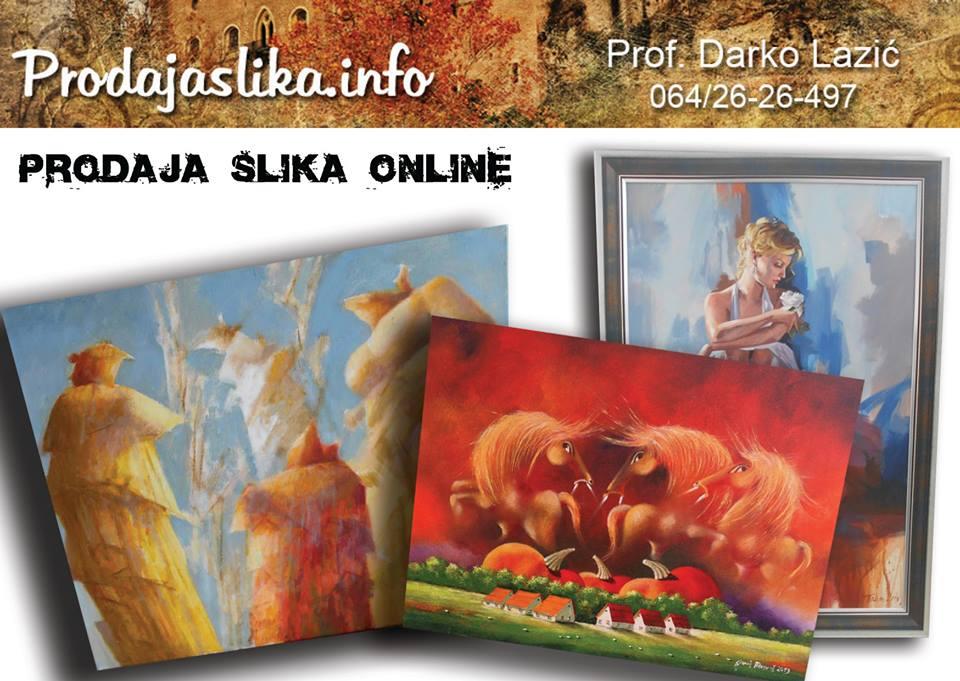 Od 31.01.2017. i zvanično postojimo kao PRVA ONLINE GALERIJA U SRBIJI!!!  ZA FIRME I PREDUZETNIKE KUPOVINA PREKO RACUNA !!!  UBEDLJIVO NAJPOVOLJNIJE CENE umetnickih slika u Srbiji (i do -30 % nize od konkurencije)!!!!