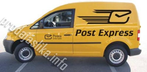 Besplatna expresna dostava na kućnu adresu u roku od 24 h