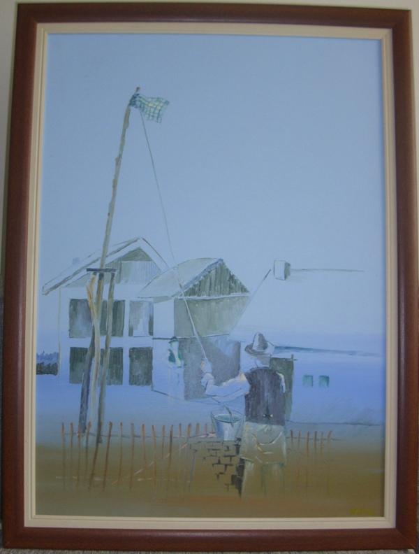 Djeram, ulje na platnu, 70×50 cm, uramljena, 2008., profesor Ljubisa Jovanovic Wolf, 400 evra