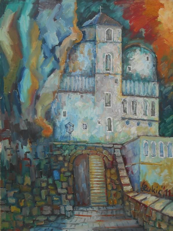 Ostrog, ulje na platnu, 101×74 cm, 2011., Milan Lukic, 300 evra