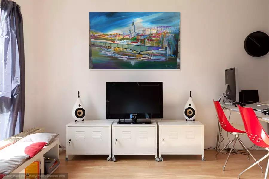 Kako bi umetnicka slika Beograd izgledala u Vasem domu 6