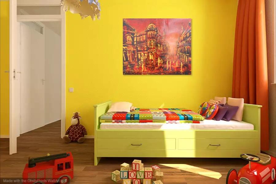 Kako bi umetnicka slika Knez Mihajlova ulica izgledala u Vasem domu 9