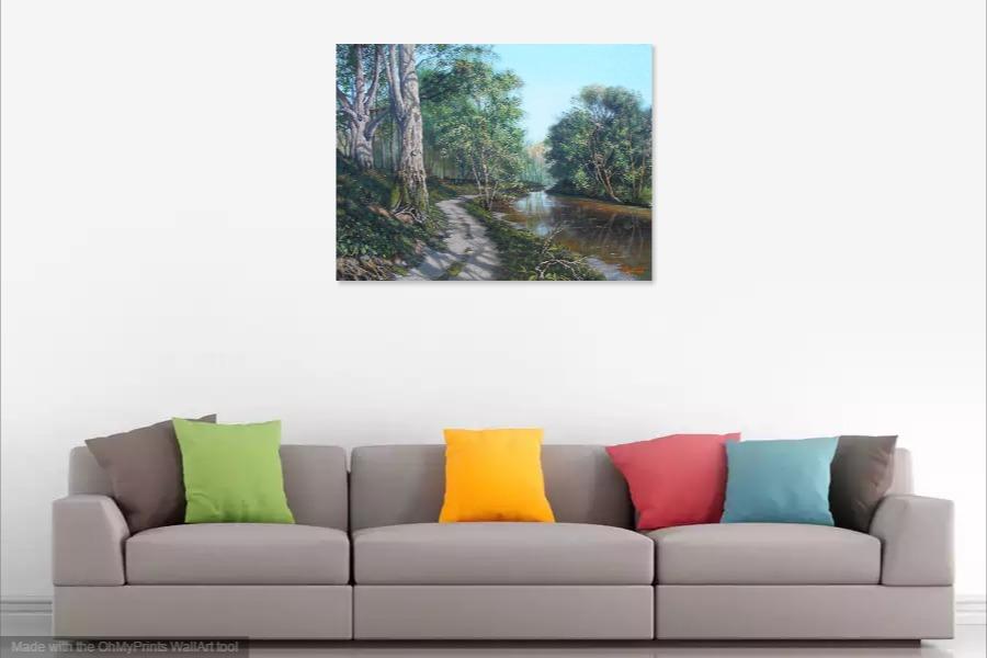 Kako bi umetnicka slika Prolece 3 izgledala u Vasem domu 3