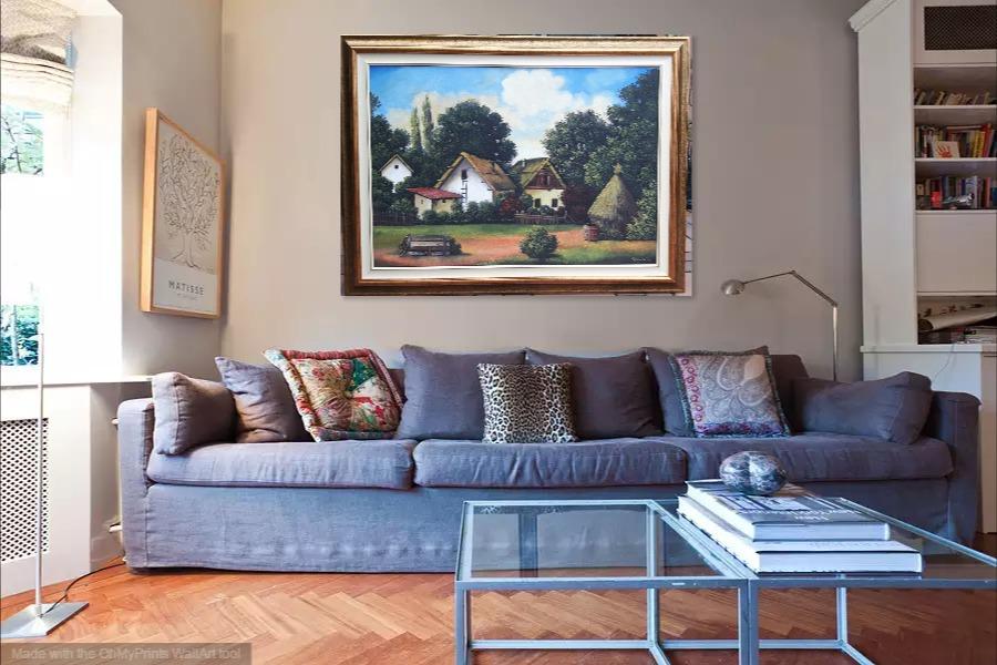 Kako bi umetnicka slika Sava Stojkov izgledala u Vasem domu 14