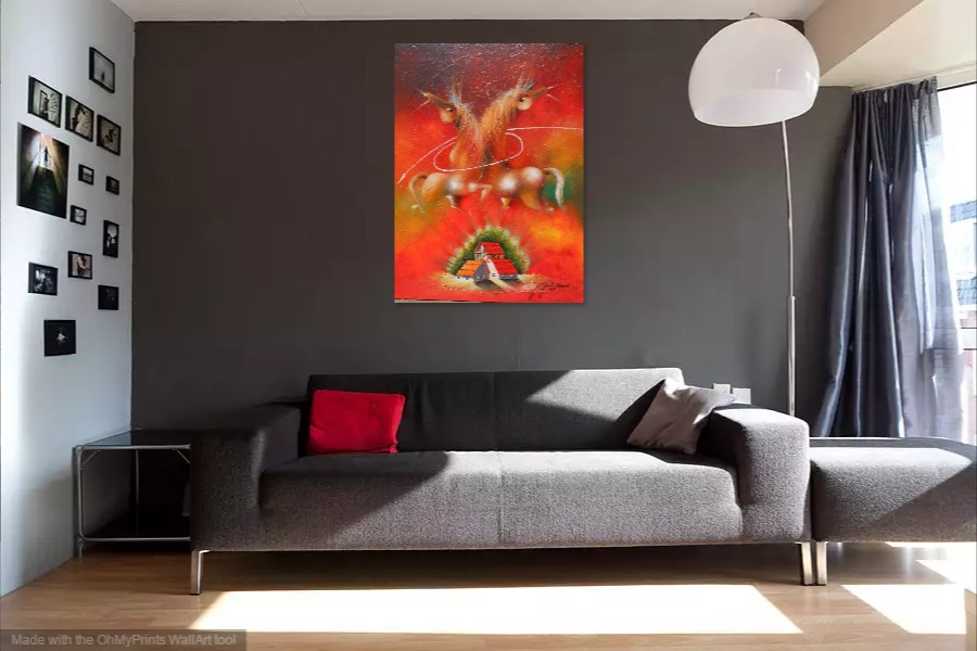 Kako bi umetnicka slika Veza izgledala u Vasem domu 5
