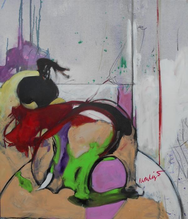 Toreador 4, Mr. akadem. slikar  Natalija Cimesa, ulje na platnu, 78×68 cm, 2017., sertifikat, 220 e