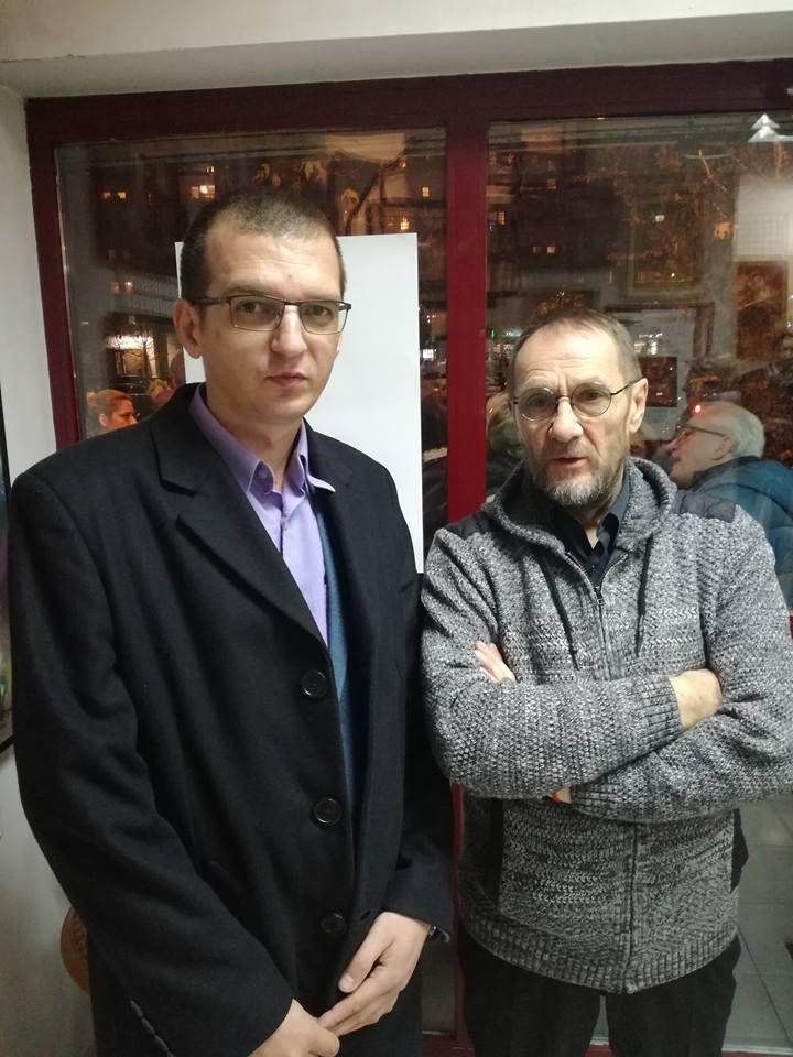 Slikar gosp. Šandor Šlajf i prof. Darko Lazić